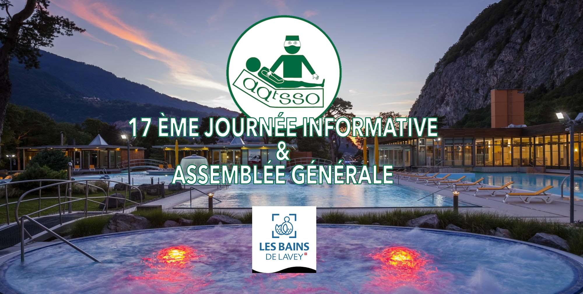 17ème Journée Informative et Assemblée Générale de l'AATSSO